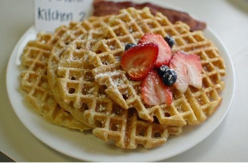 light and crispy waffles | what's for dinner? | Pinterest