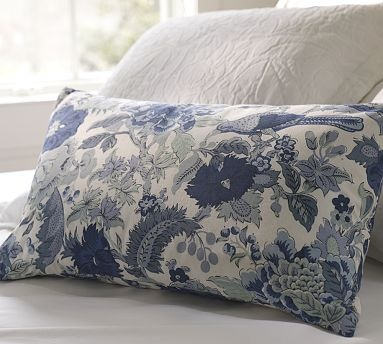 Blue Throw Pillows Pottery Barn : pottery barn pillow Inspirations for the Home Pinterest
