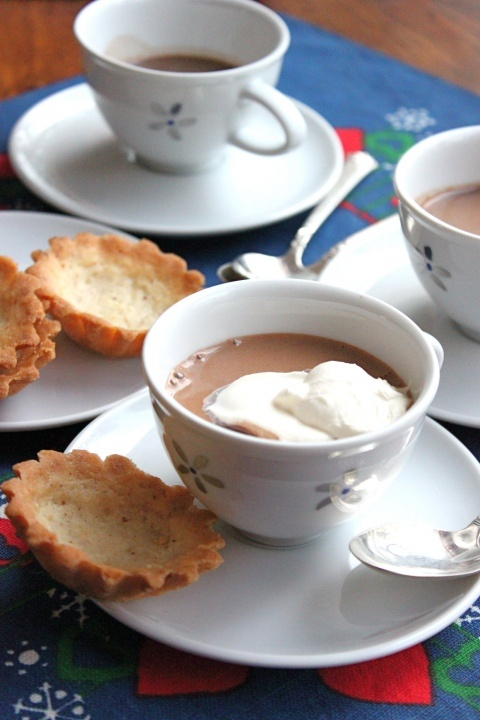 Five And Spice: Hot chocolate with whipped cream