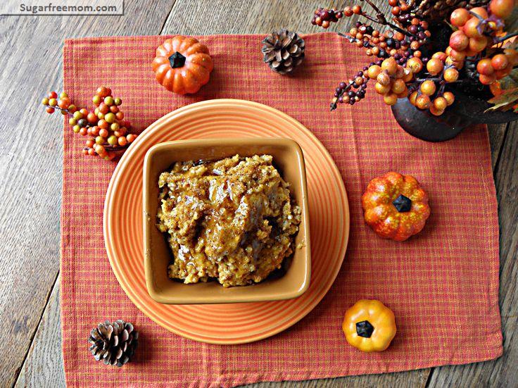 Slow cooker pumpkin pie steel cut oatmeal