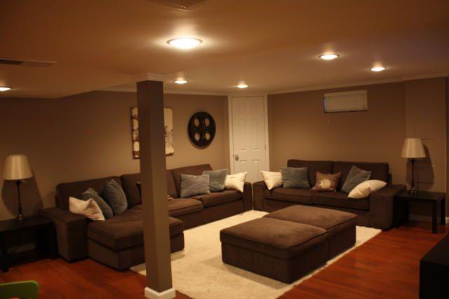 Recessed Lighting For Finished Basement : Finished basement
