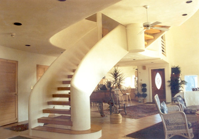 Love Monolithic Domes Interior Curves Homes Pinterest