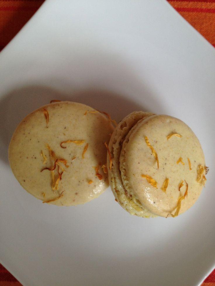 pumpkin macarons | Yummm | Pinterest