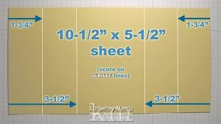Tri-Fold Shutter Card Tutorial