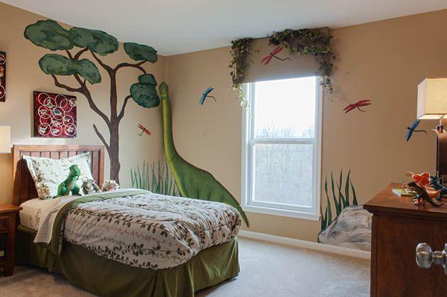 Dinosaur themed kid 39 s room jackson pinterest for Dinosaur themed kids room