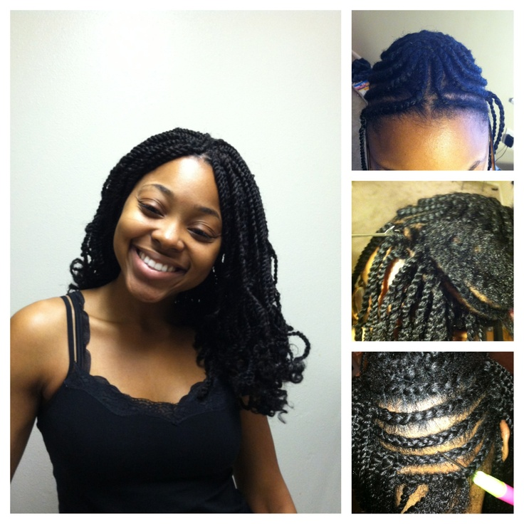 Crochet Braids Micro : Crochet twists Micro braids Pinterest