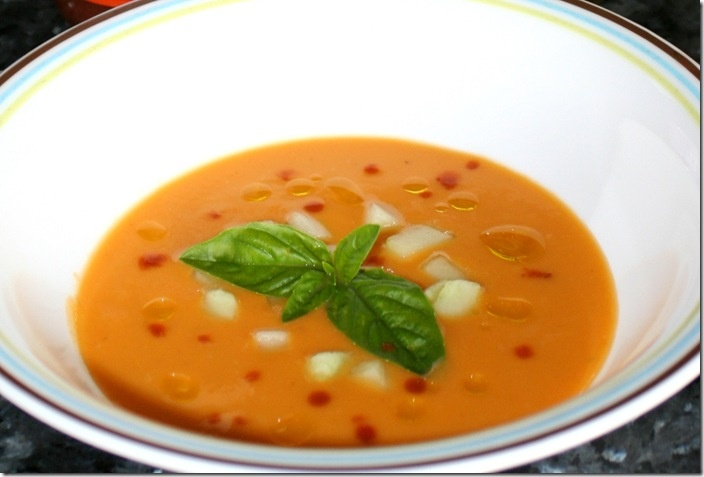 Mango Gazpacho | Soups and Sandwiches | Pinterest