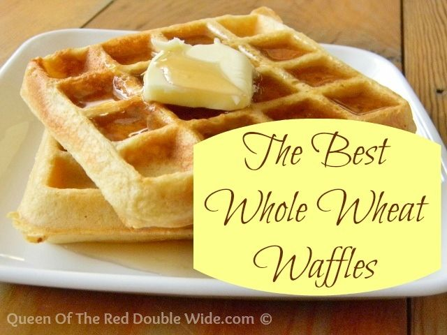 The Best Whole Wheat Waffles | Cooking Therapy | Pinterest