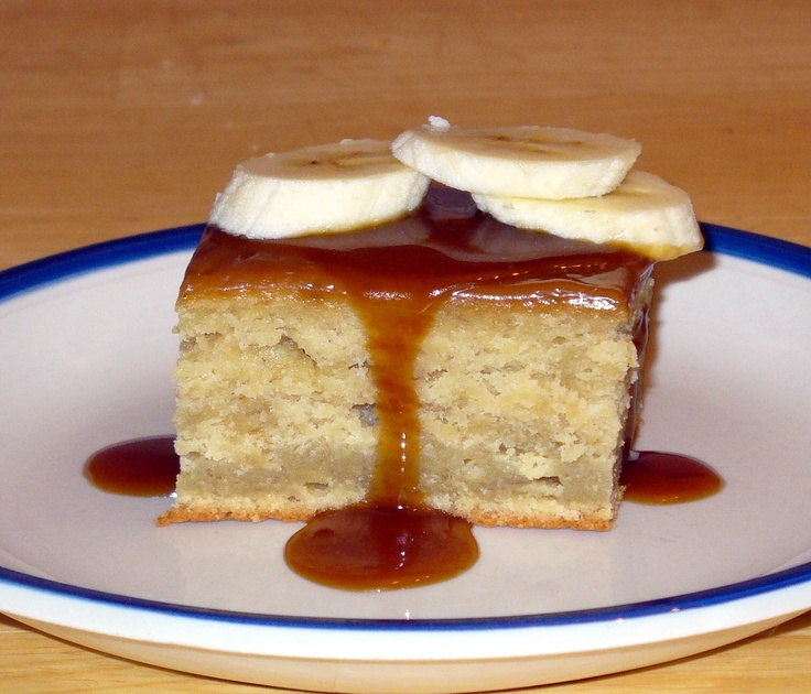 Sticky Toffee Banana Pudding | Recipe