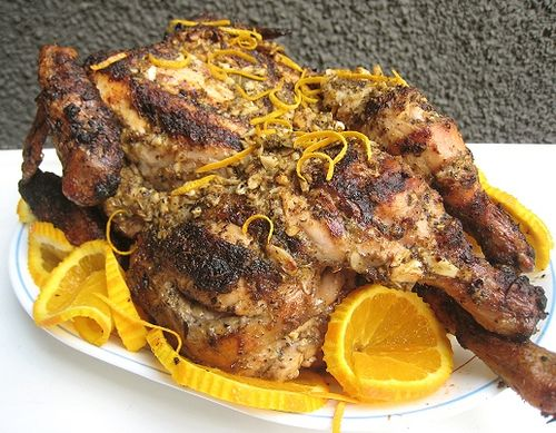 Grilled cuban-style marinated chicken. | Good Eats ;D | Pinterest