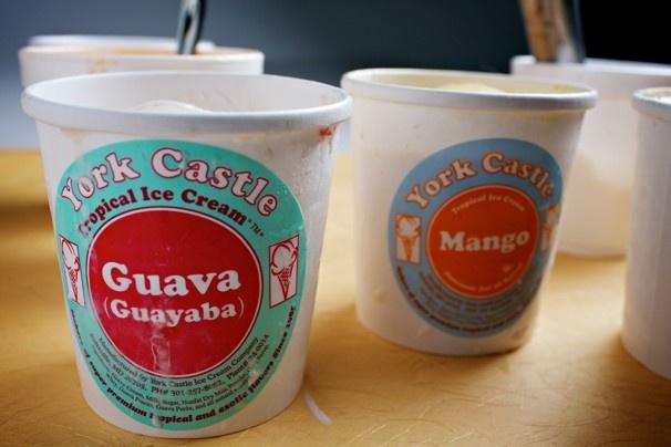 Jamaican ice cream scoop: It's fruit-forward