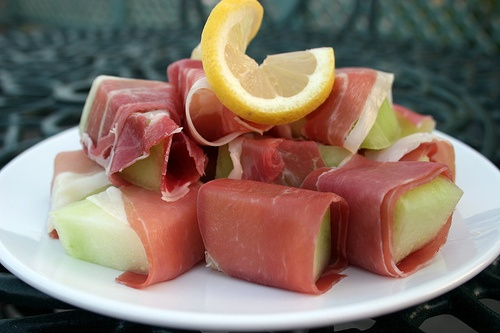 melon and ham. 70's | American Hustle Retro Foods | Pinterest