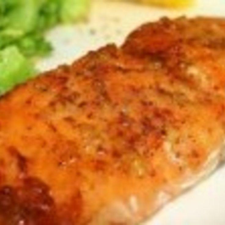 Baked Honey Dijon Salmon | Un-Chicken Main Dishes | Pinterest