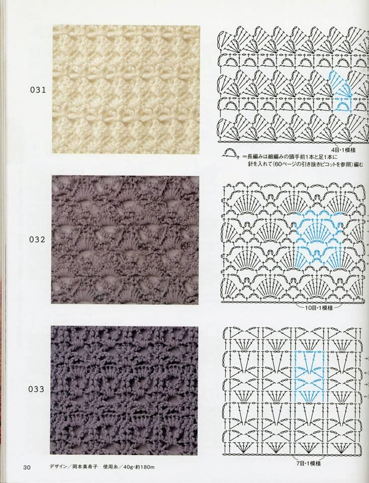 Pin by Brandi Jones on Crochet - Stitches & Charts Pinterest