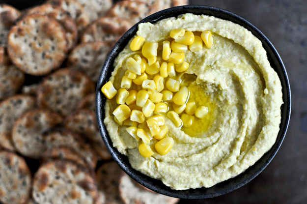 Sweet Corn and Roasted Jalapeno Hummus | 27 Perfect Potluck Dishes For ...