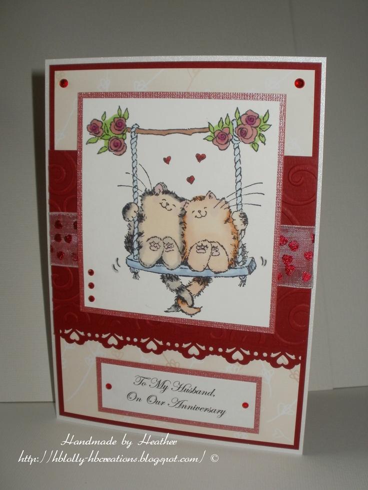 Anniversary | My Handmade Cards | Pinterest