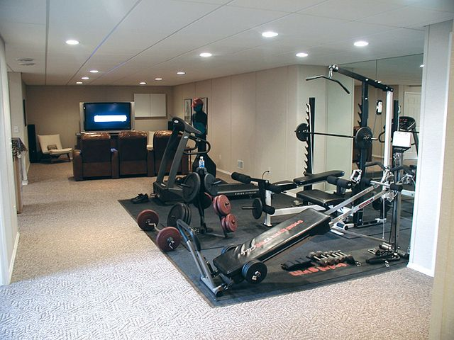 Home Gym In Basement Home Gym Pinterest