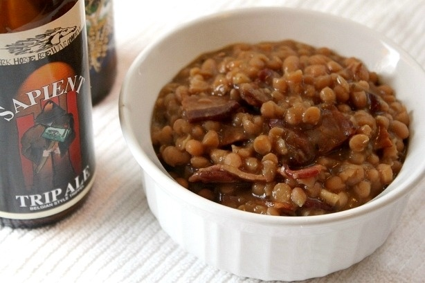Baked beans made with beer? | Eat this... | Pinterest