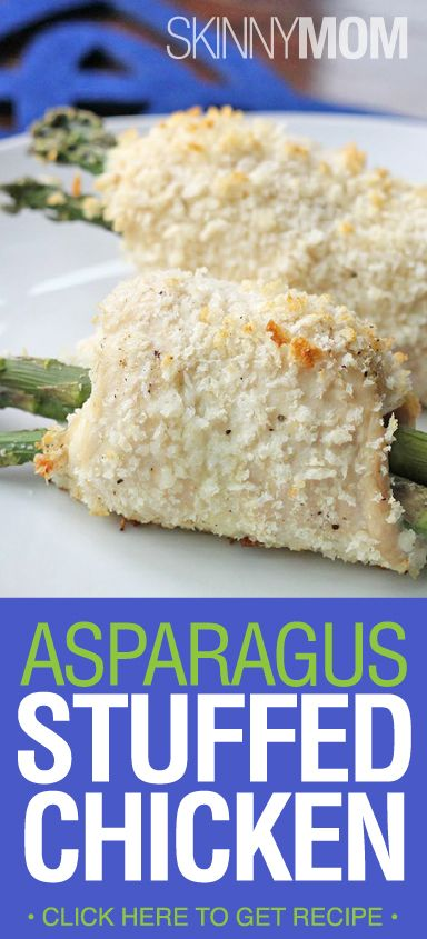 Asparagus and Cheese Stuffed Chicken | Recipe