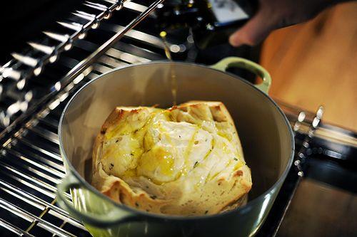 The Pioneer Woman: Pastor Ryan's Bloomin' Herb Bread, baked inside ...