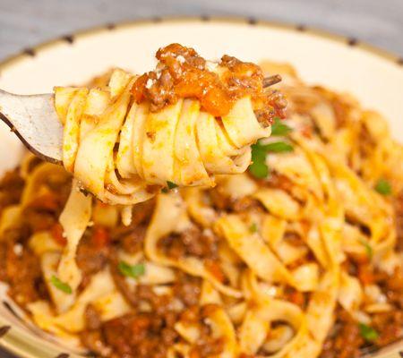 Fettuccine Bolognese | Italiano | Pinterest