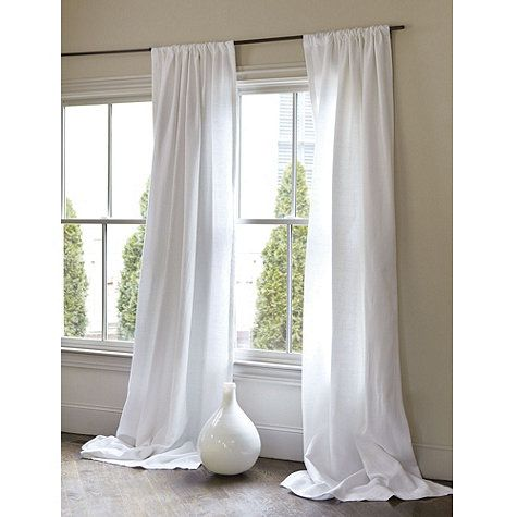 Beige And White Striped Curtains Gray Linen Curtain Panels