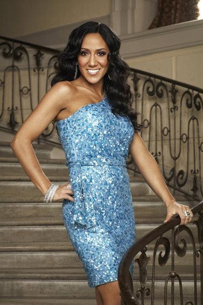 Real Housewives Melissa Gorga wears a 400 pound fat suit