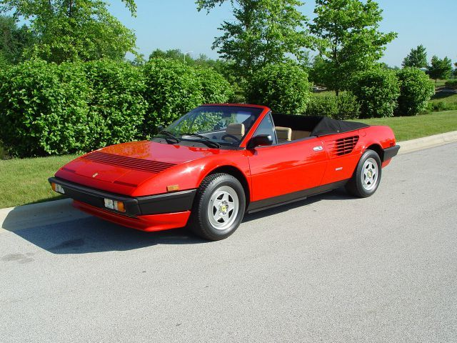 1984 ferrari mondial cabriolet qv cortile della ferrari pinterest. Black Bedroom Furniture Sets. Home Design Ideas