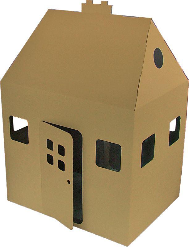 Cardboard Playhouse House Children 39 S Place Pinterest