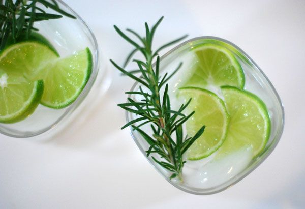 Rosemary lime gin cocktail | Cocktails. Quenchers. Smoothies. | Pinte ...