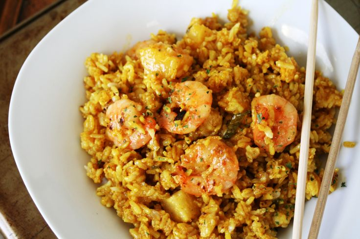 Thai Shrimp and Pineapple Fried Rice | Recipe