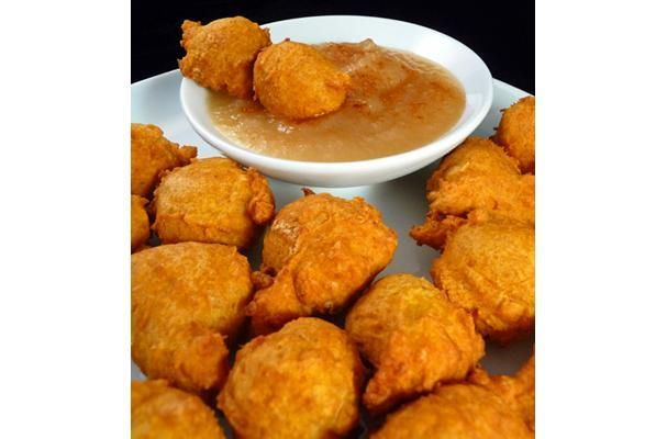 Sweet Pumpkin Fritters Recipe — Dishmaps