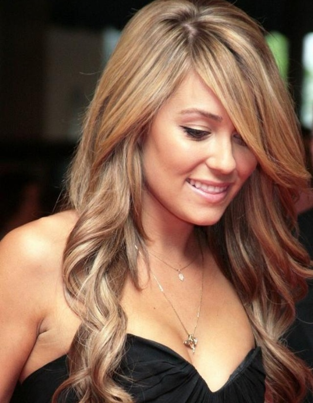 Honey Blonde Highlights Black Hair Hairs Picture Gallery