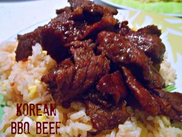 Pulkogi/Bulgogi/Korean BBQ Beef