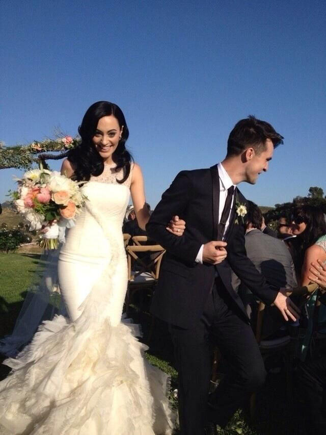 Brendon Urie and Sarah Orzechowski finally married