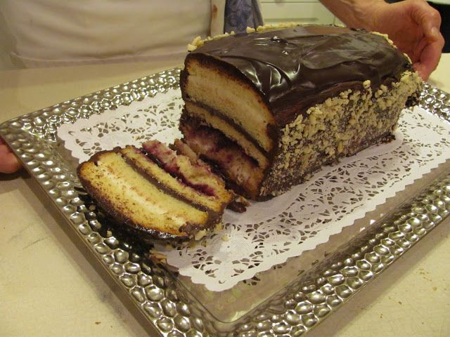 Chocolate Cassata Cake | Maria's Bits & Pieces Blog | Pinterest