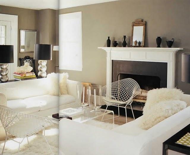 White grey cream living room living room pinterest