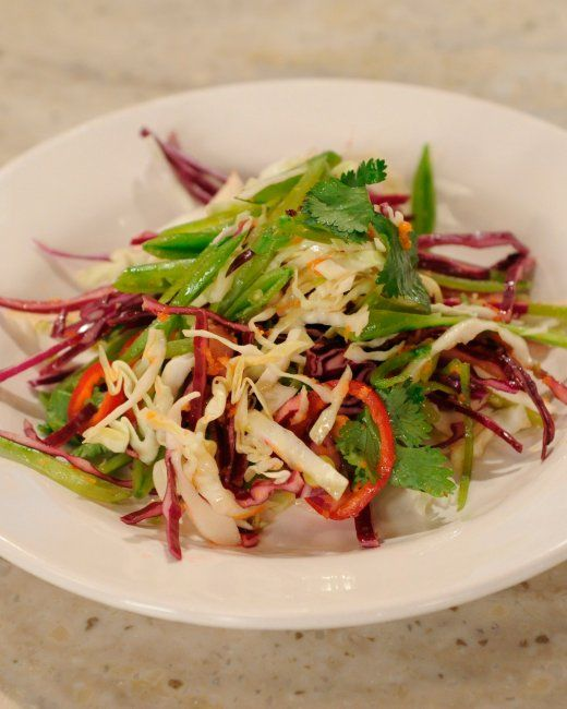 Five Spice Pork With Asian Slaw Recipes — Dishmaps