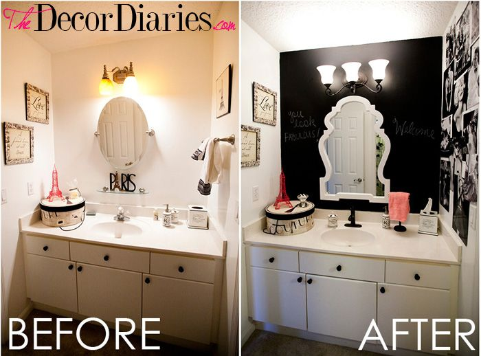 Paris bathroom theme