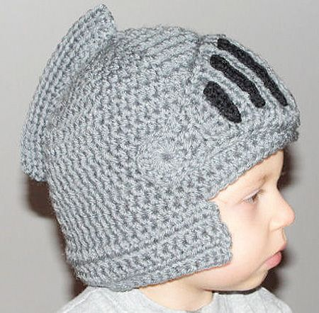Knitting Pattern Knight Hat : Knitted Knight Helmet Hat Roman Helmet Pinterest