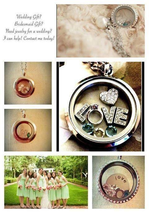 Wedding Gift Ideas Second Time Around : ... lockets for the entire wedding party Wedding Lockets Pinterest