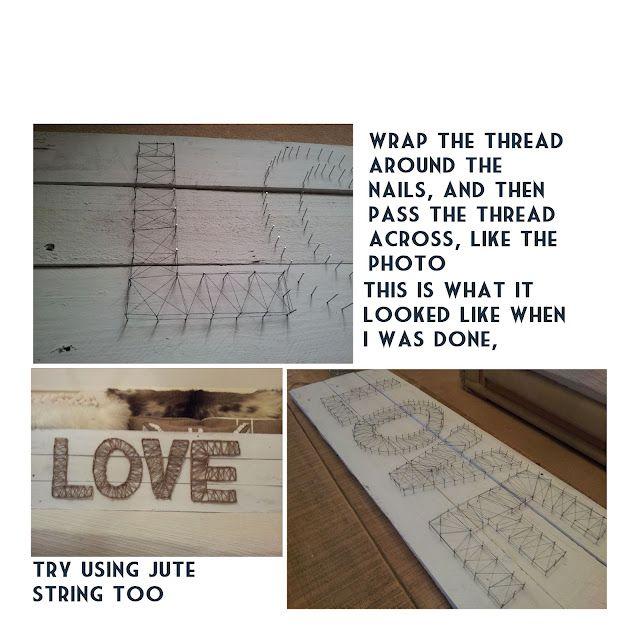 String Art Using Pallets. (Tutorial)