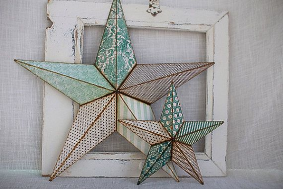 Metal barn star decor home sweet home pinterest for Country star decorations home