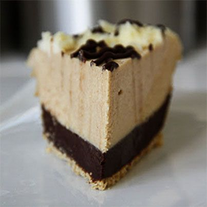Chocolate Peanut Butter Mousse Pie | Favorite Recipes | Pinterest