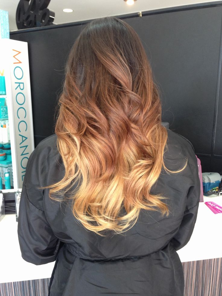 Shoulder Length Hairstyles With Ombre : Perfect medium length ombre hair with fringe wodip