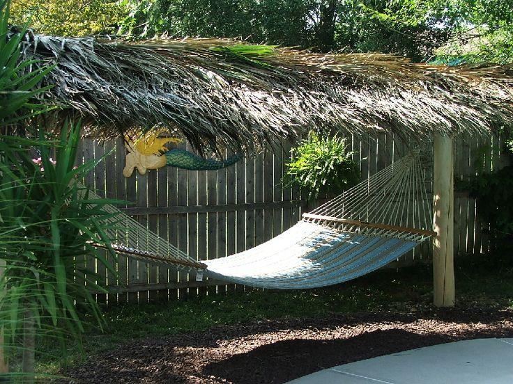 Backyard Hammock Ideas : backyard hammock