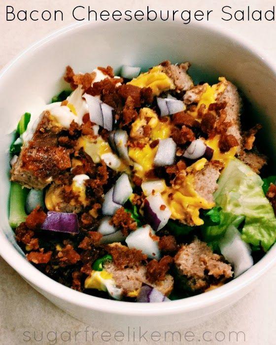 Bacon Cheeseburger Salad | Main Dish Recipes | Pinterest