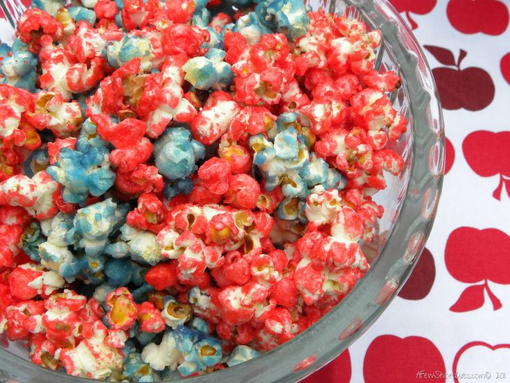 Perfect Memorial Day or 4th of July Snack!