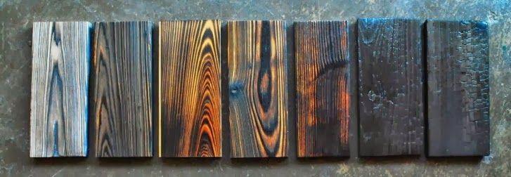 Shou Sugi Ban Wood Stuff Pinterest
