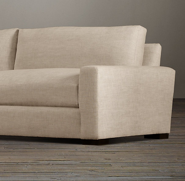 7 maxwell upholstered sleeper sofa sleepers restoration hardware couches